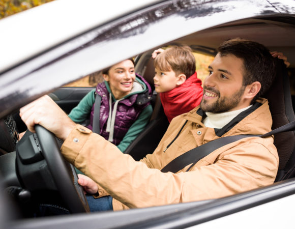 Family Happy with Cheapest Car Insurance in Madison, IN
